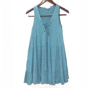Hem & Thread boho sleeveless tiered dress
